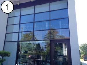 Pellicole a specchio per vetri di finestre e vetrate - Pellicola riflettente per finestre ...
