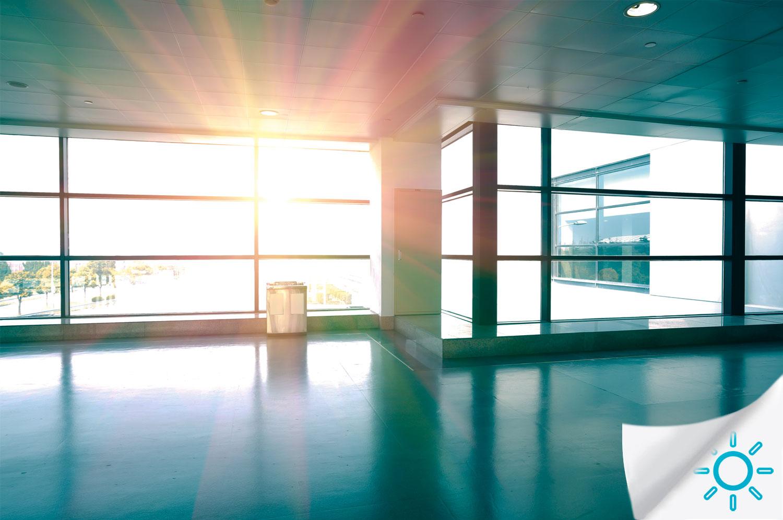 Pellicole per vetri antisolari sicurezza decorative - Pellicola finestre privacy ...